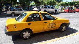 Usuario de taxi   Foto: especial