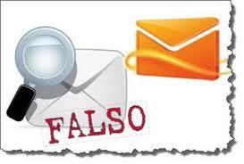 mails falsos