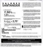 La Audiencia Provincial de Valencia falla a favor de una afectada por Valores Santander