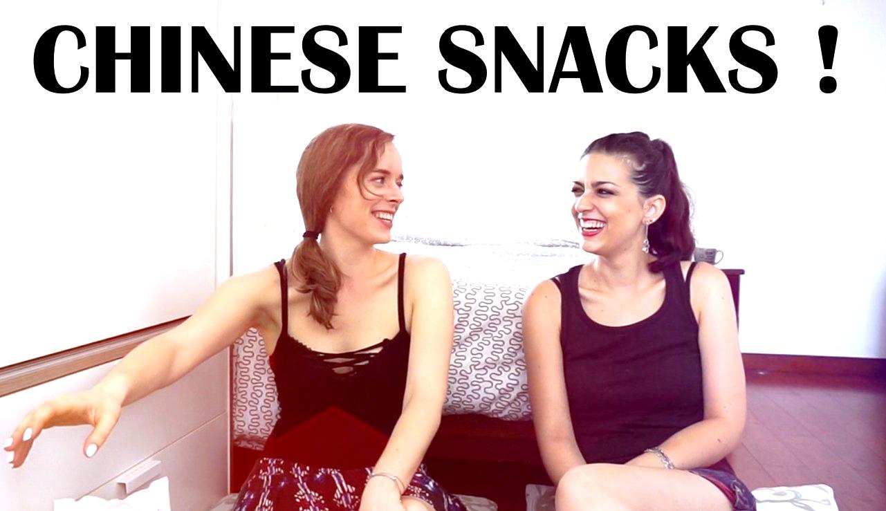 Snacks chinois ! Miam ?