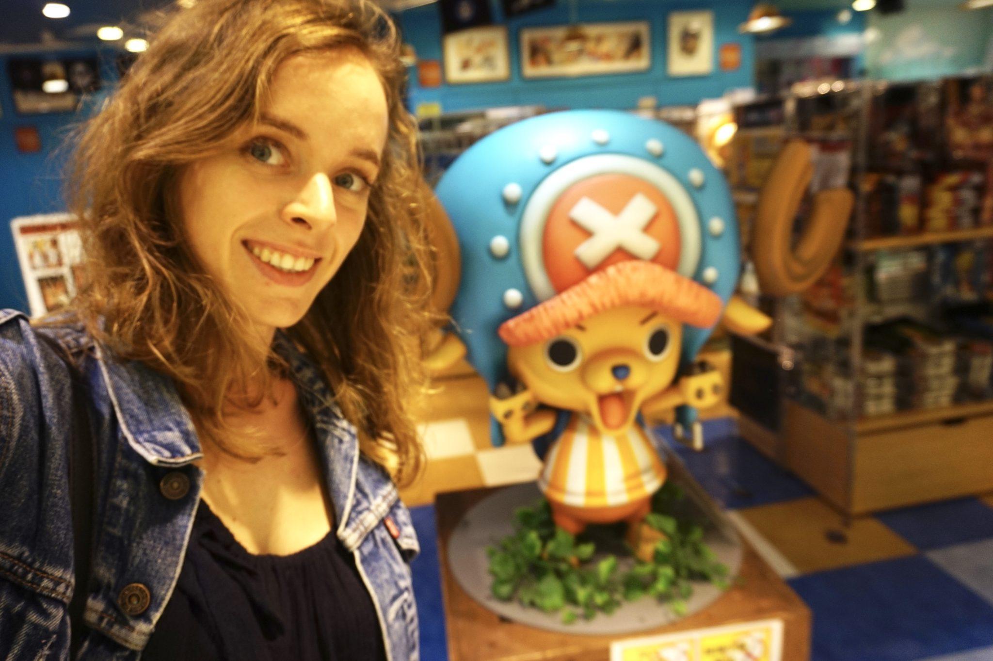 Le Parc d'attraction One Piece à Tokyo !