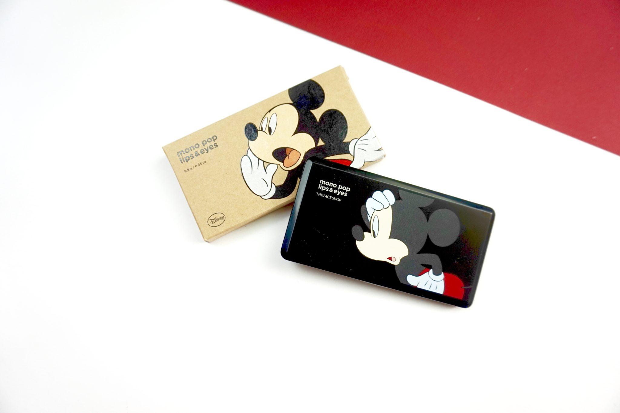 La palette Mickey de The Face Shop : parfaite pour voyager !