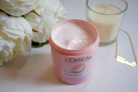 packaging démaquillant fleurs rares l'oréal