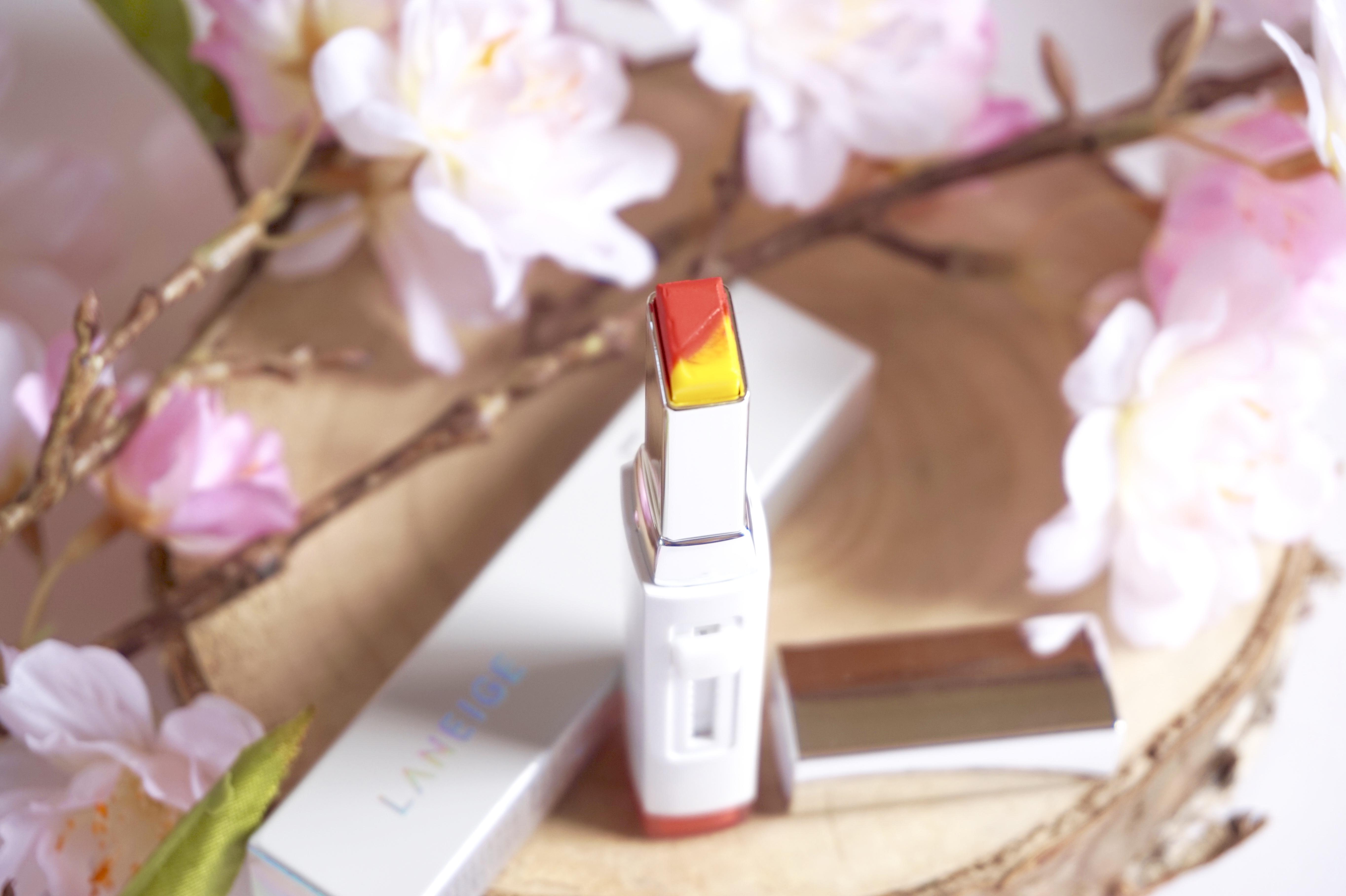 Lèvres ombrées parfaites avec le Two Tone Lip Bar de Laneige