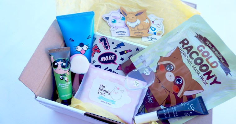 BOX KAWAII Beauté Tamtokki : rentrée spéciale K-Beauty !