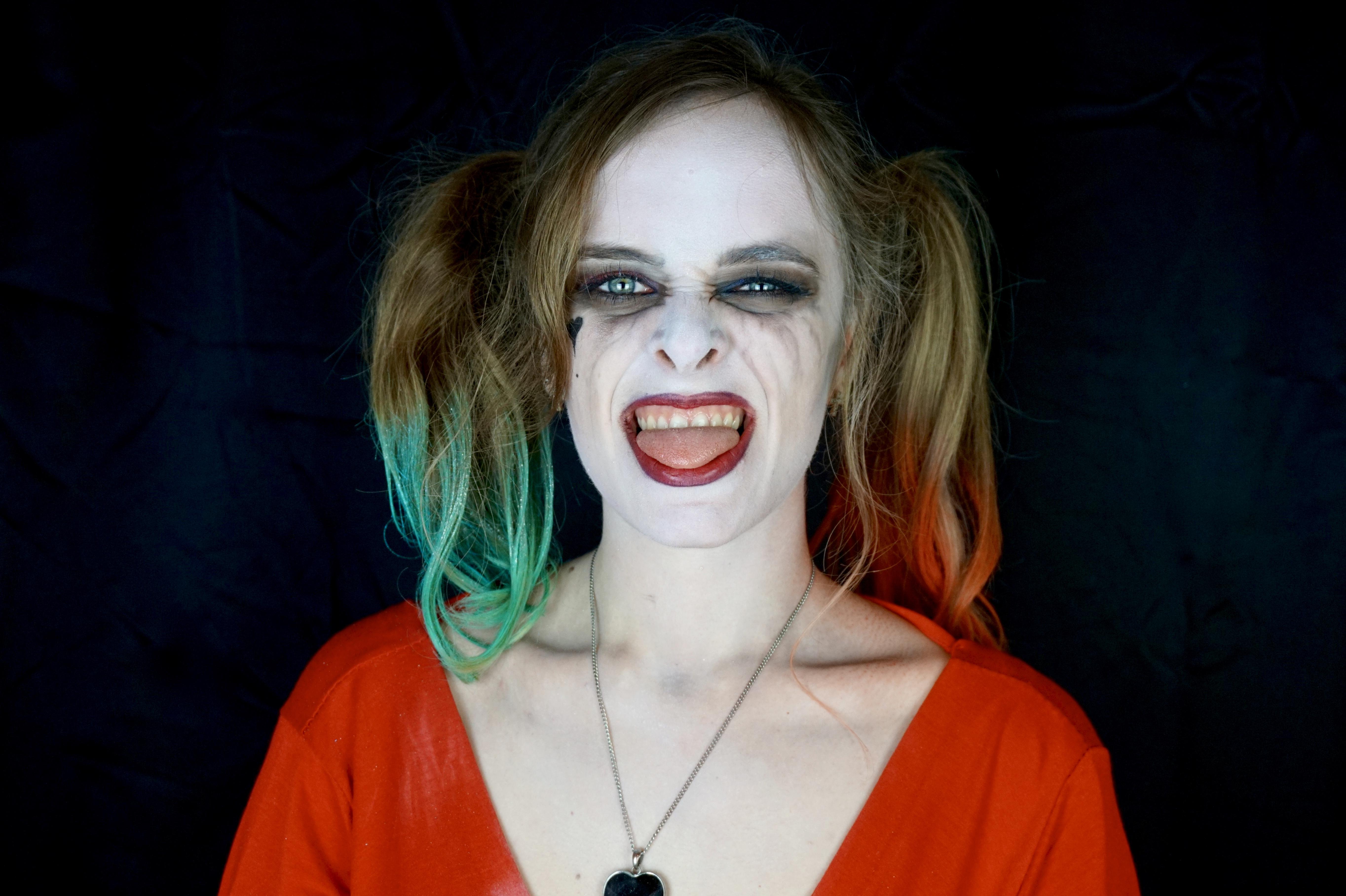 Harley Quinn – Tuto maquillage Halloween