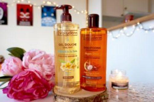 avis gel douche shampoing evoluderm qualité