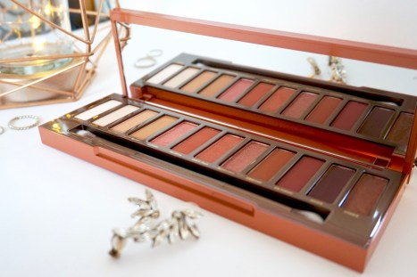revue palette naked heat urban decay