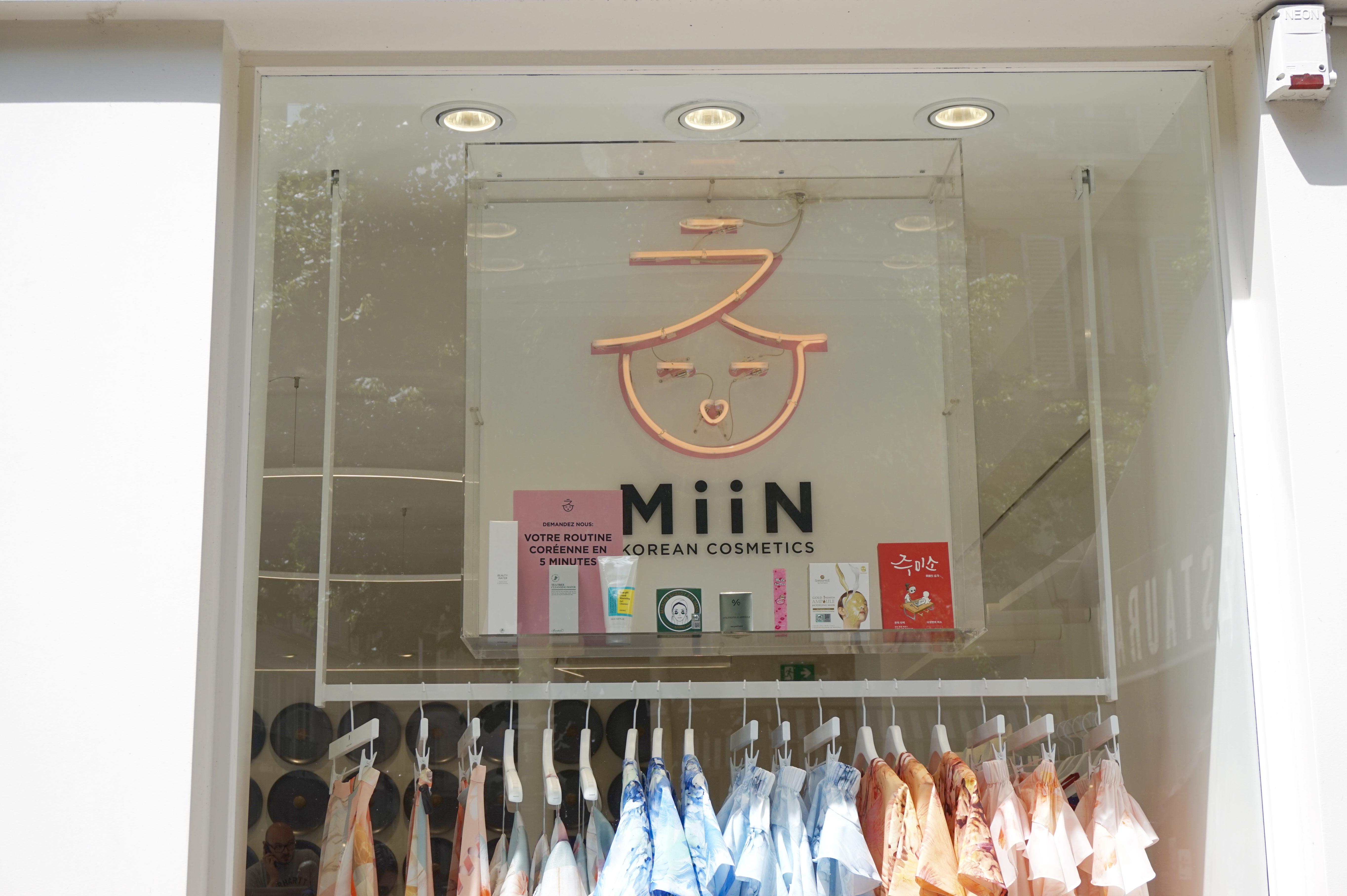 Boutique K-Beauty Miin Cosmetics Paris !