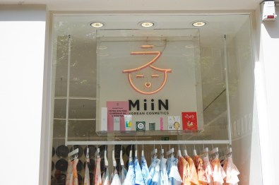 Boutique K-Beauty Miin Cosmetics Paris
