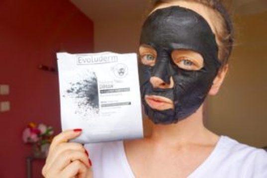 Revue Masques en tissu Evoluderm visage