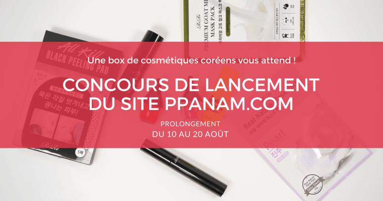 Nouvelle Boutique coréenne PPANAM + Concours !