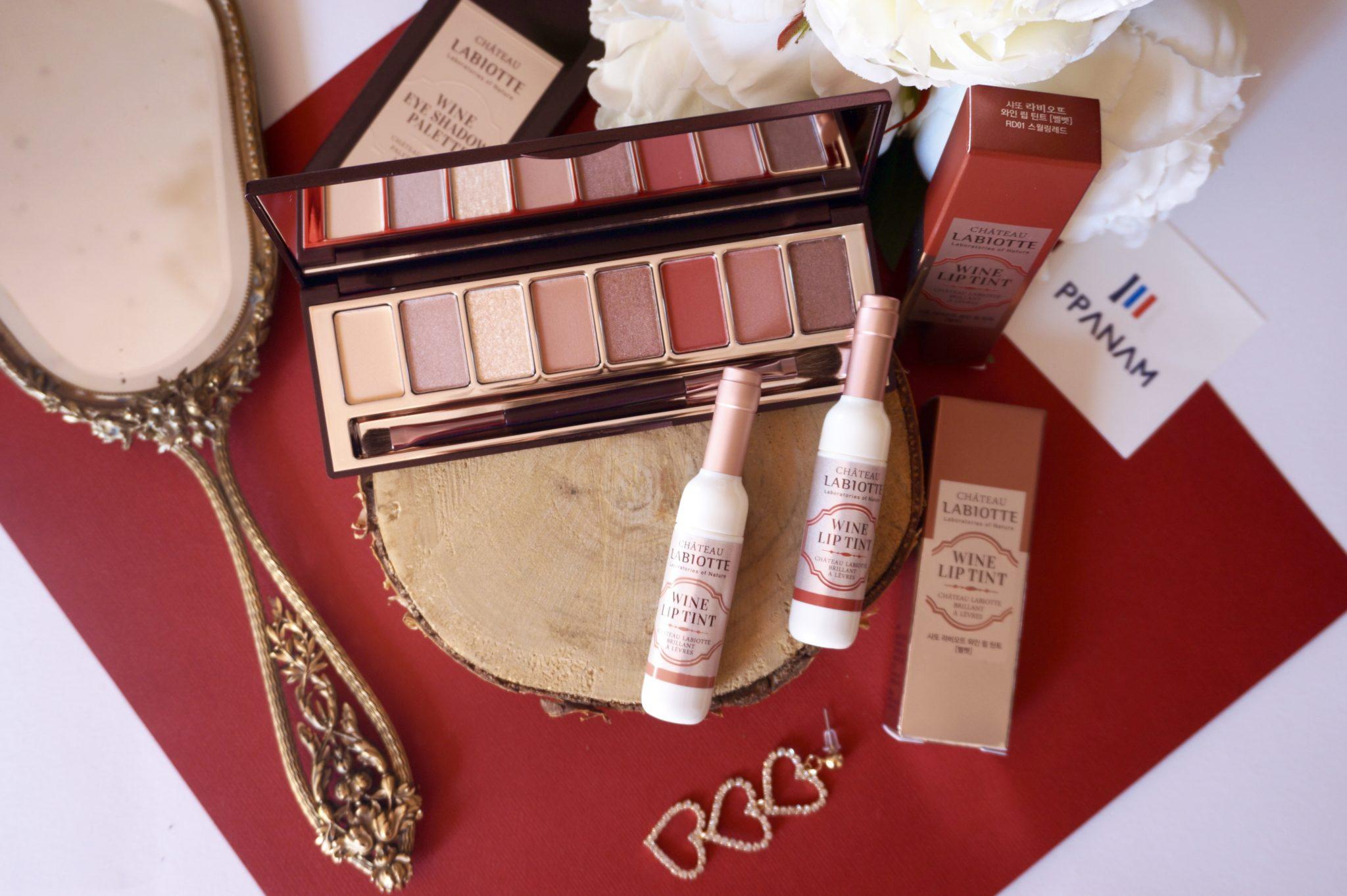 Maquillage Château Labiotte aux extraits de vin avec Ppanam