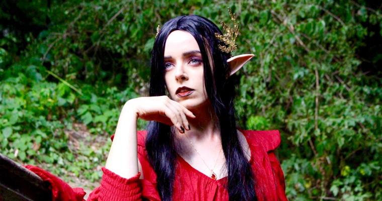 Dark Elfe Halloween