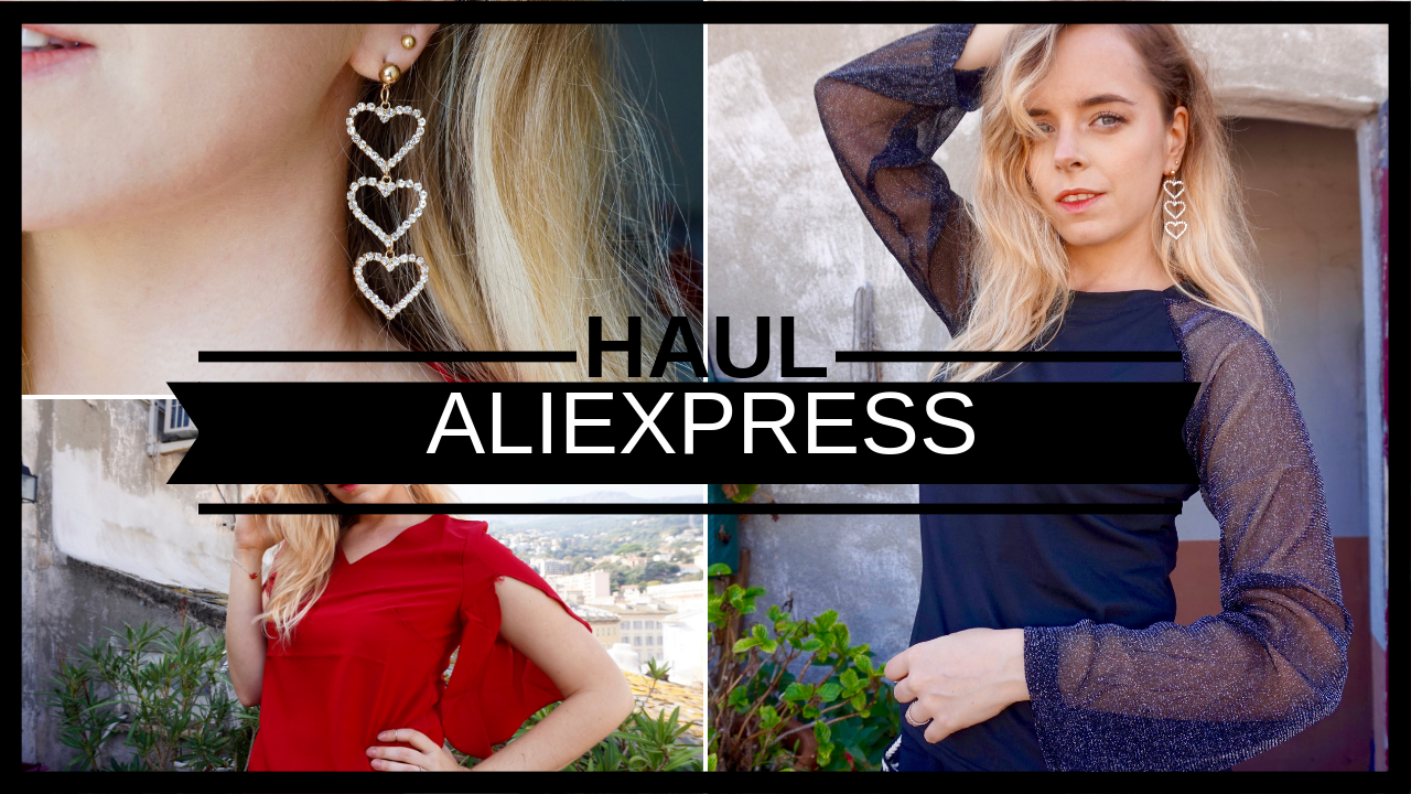 Haul Mode Coréenne Aliexpress