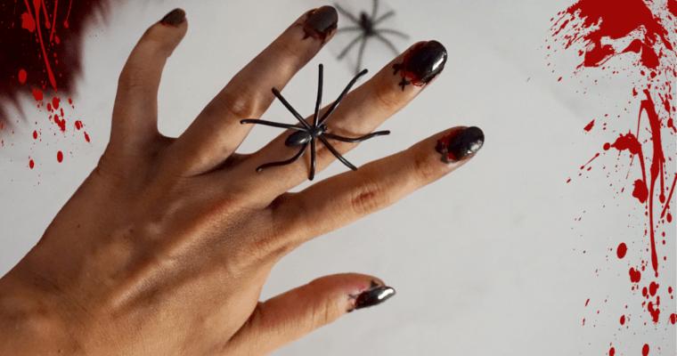 Nail art Halloween Débutant 2019
