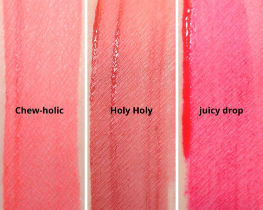 Swatches Liquid Lipstick Bitti x coulourpop