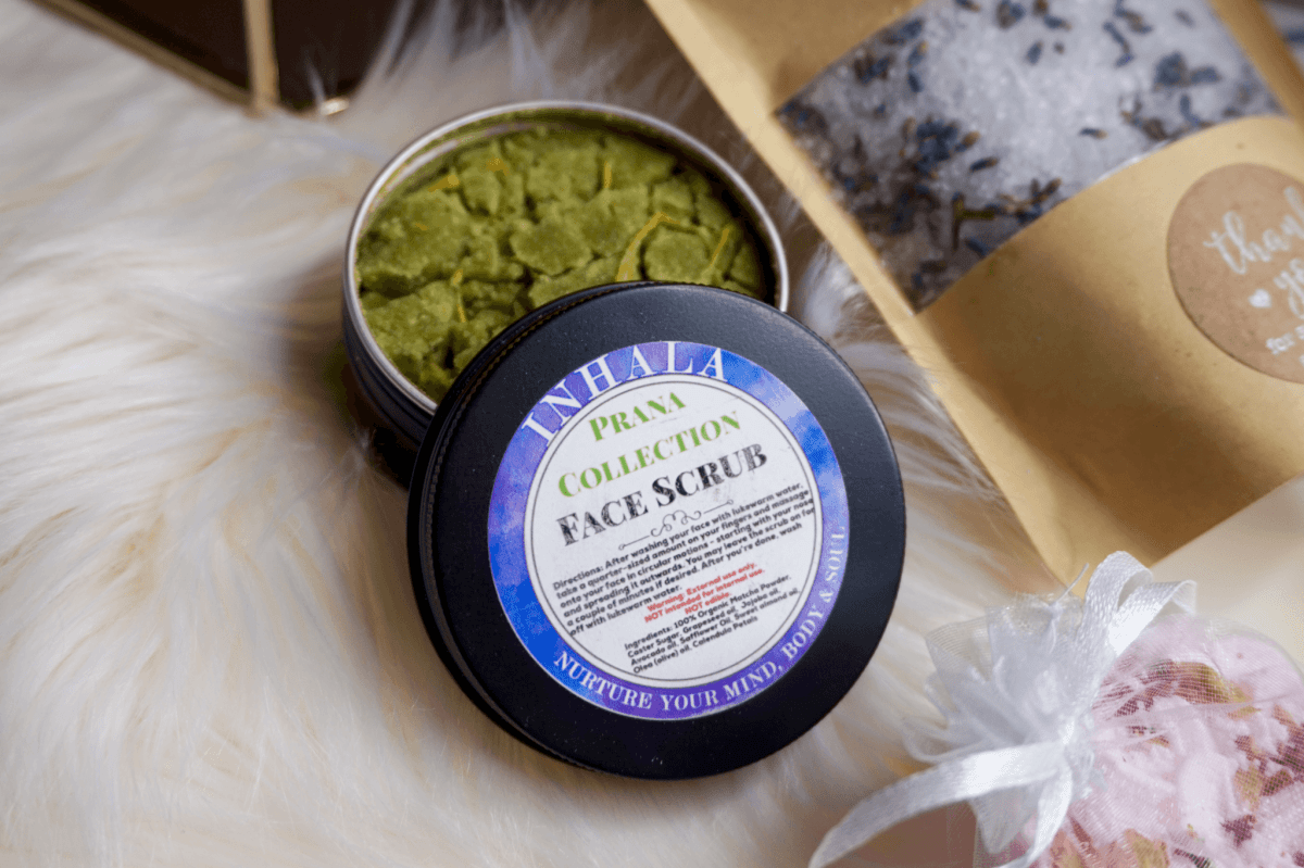 Prana Face Scrub Inhala Shop