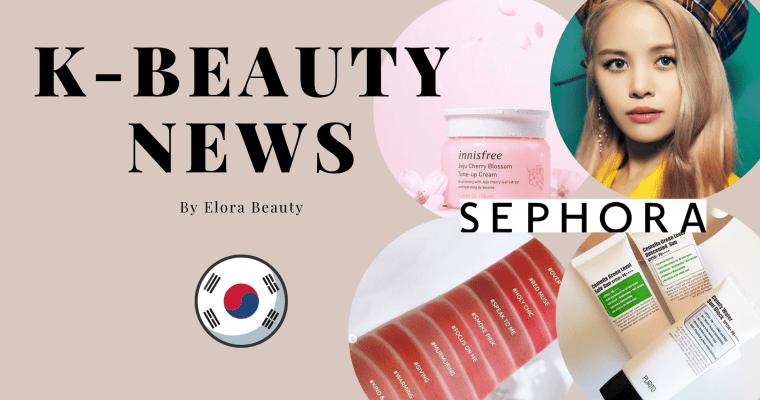 KBeauty News : nouveautés makeup et skincare