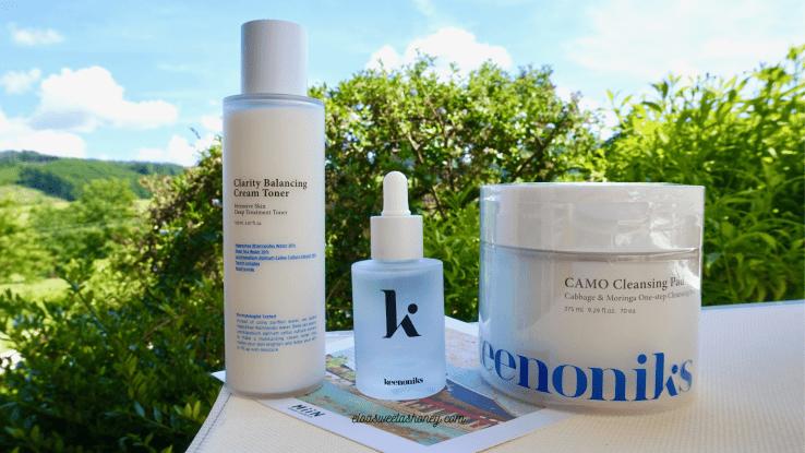 Avis soins du visage Keenoniks