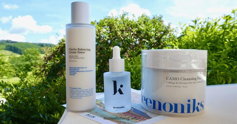 Avis soins du visage Keenoniks sur Miin Cosmetics !