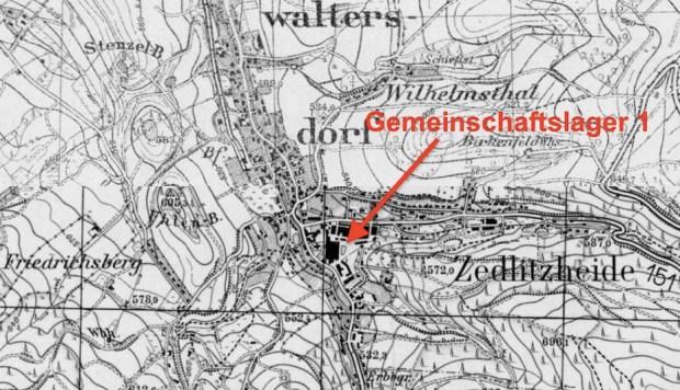 Wüstewaltersdorf (Walim) i obóz Gemeinschaftslager nr 1