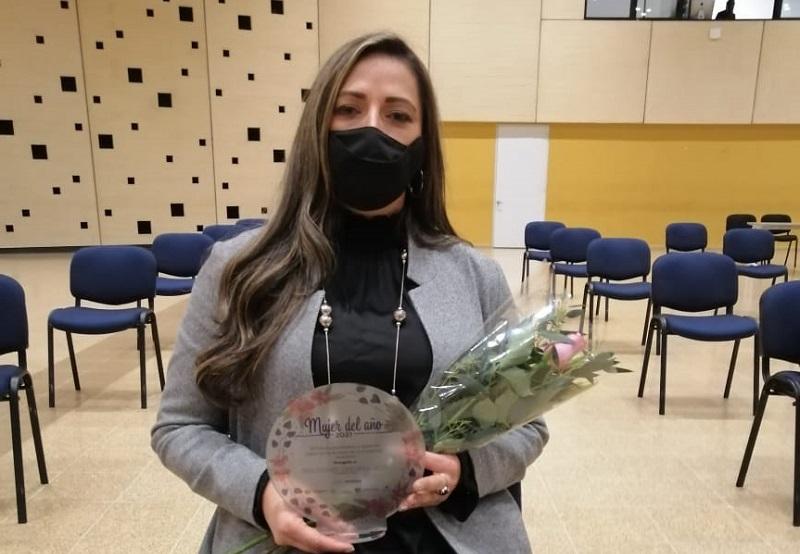 Nidia Salamanca reconocida mujer del año Cajicá 2021