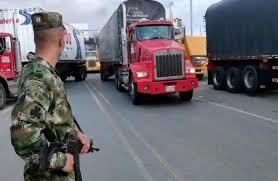 Tribunal: los camiones en los bloqueos pueden ser incautados
