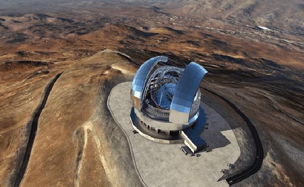 El mayor telescopio del mundo