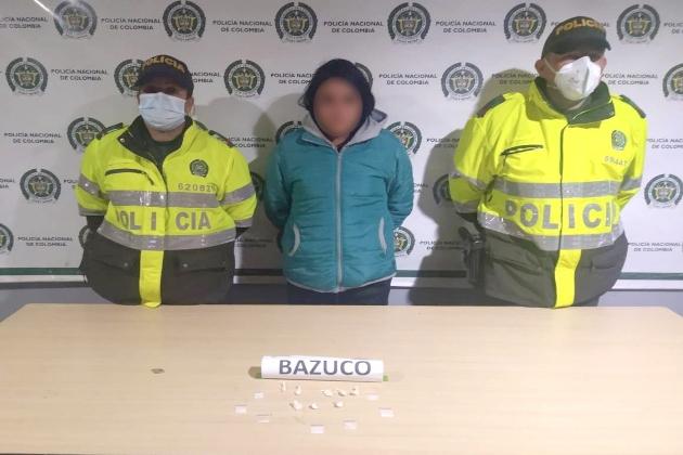 Capturada presunta expendedora de drogas en Sopó