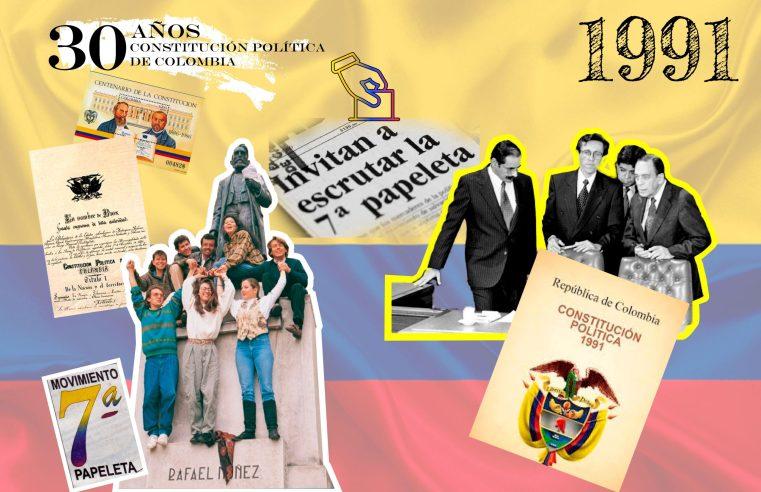 Especial: Se cumplen 30 años de la firma de la Constitución de 1991