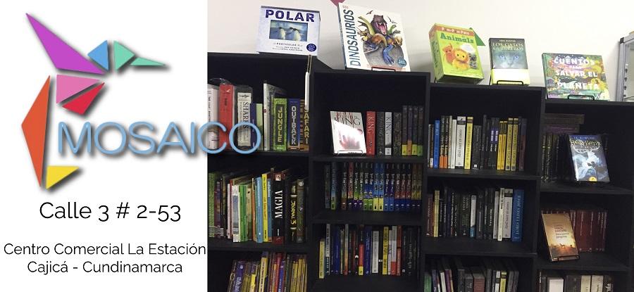 La Librería Mosaico llegó a Cajicá