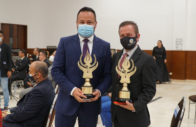 Alcaldes de Sopó y Zipaquirá recibieron el premio 'Orgullo de Colombia'