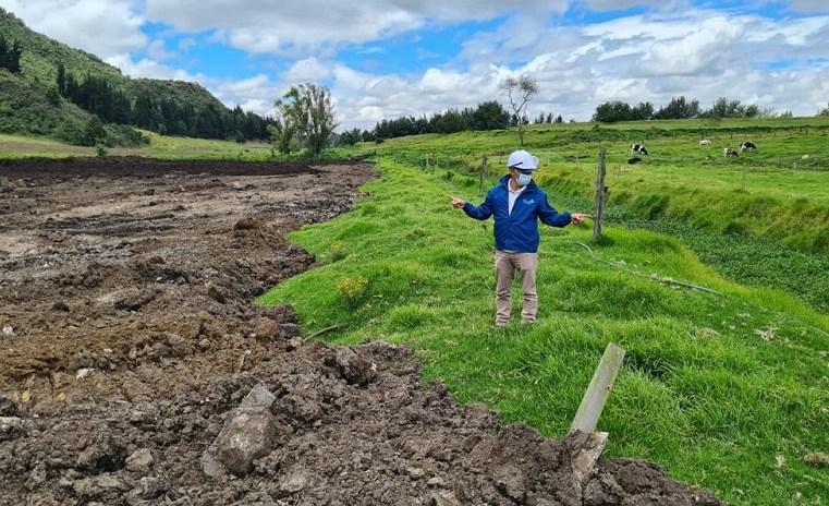 Cota: Evalúan posible proceso sancionatorio a proyecto inmobiliario en cercanías al río Chicú