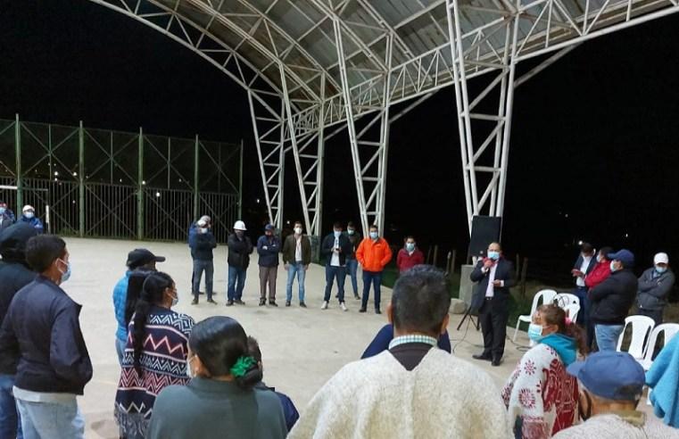 Nemocón: Iniciarán obras de mejora en la cancha múltiple de Patio Bonito