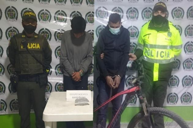 Operativos de seguridad produjeron dos capturas en Gachancipá