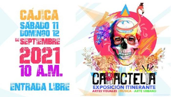 Caractelia Exposición itinerante de Artes visuales estará este fin de semana en Cajicá
