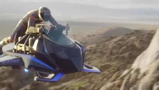 Es un pájaro? ¿Es un avión? No, es una ¡moto Voladora! (+Video)