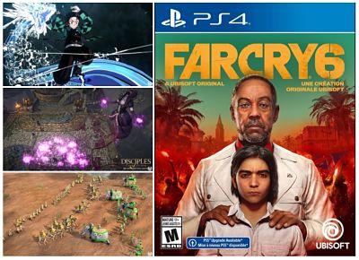 Los videojuegos más esperados de octubre 2021 (+Videos)