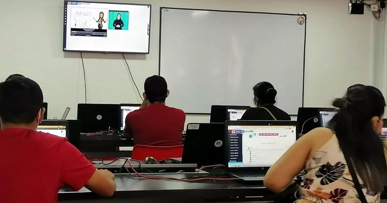 Ofrecen formación en contenidos digitales a personascondiscapacidad