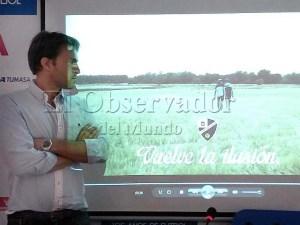 Presentación del vídeo de la campaña / Foto: C.Pascual