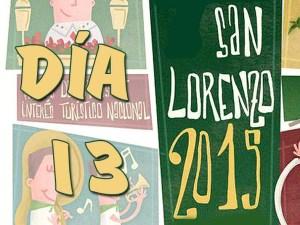 San Lorenzo 2015, día  13