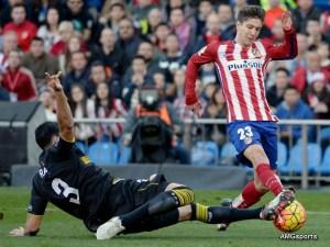 Acción durante el partido / Foto:AMGsport