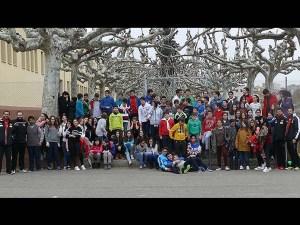 Foto de familia al término de la jornada / Foto: BM Huesca