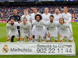 Once titular del Real Madrid / Foto / AMGsports