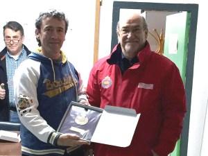 Luis Montaner campeón de Aragón Veteranos / Foto: CT Loreto