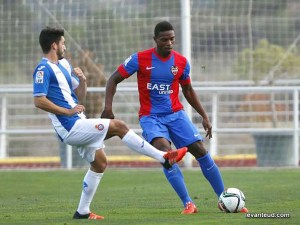 Jair jugando con el Atlético Levante / Foto: levanteud.com