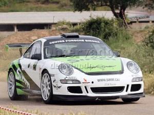 Albert Orriols y Lluis Pujolar segundos clasificados (Porsche 911GT3) / Foto: C.Pascual
