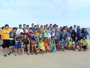 Foto de los participantes del CB Peñas / Foto: CB P eñas