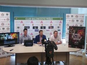 Momento de la presentación / Foto: CB Peñas